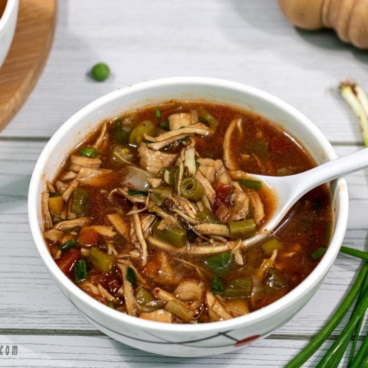 Hot and Sour Chicken Soup | chicken items | Kings Treat Special