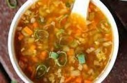 Hot and Sour Veg Soup | Veg items | Kings Treat Special